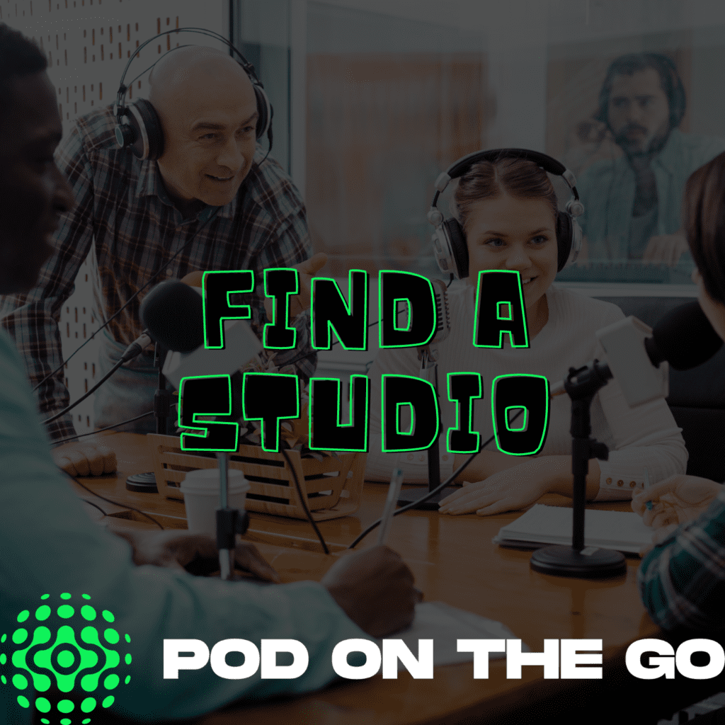 find a studio - ultimate list of podcasting resources